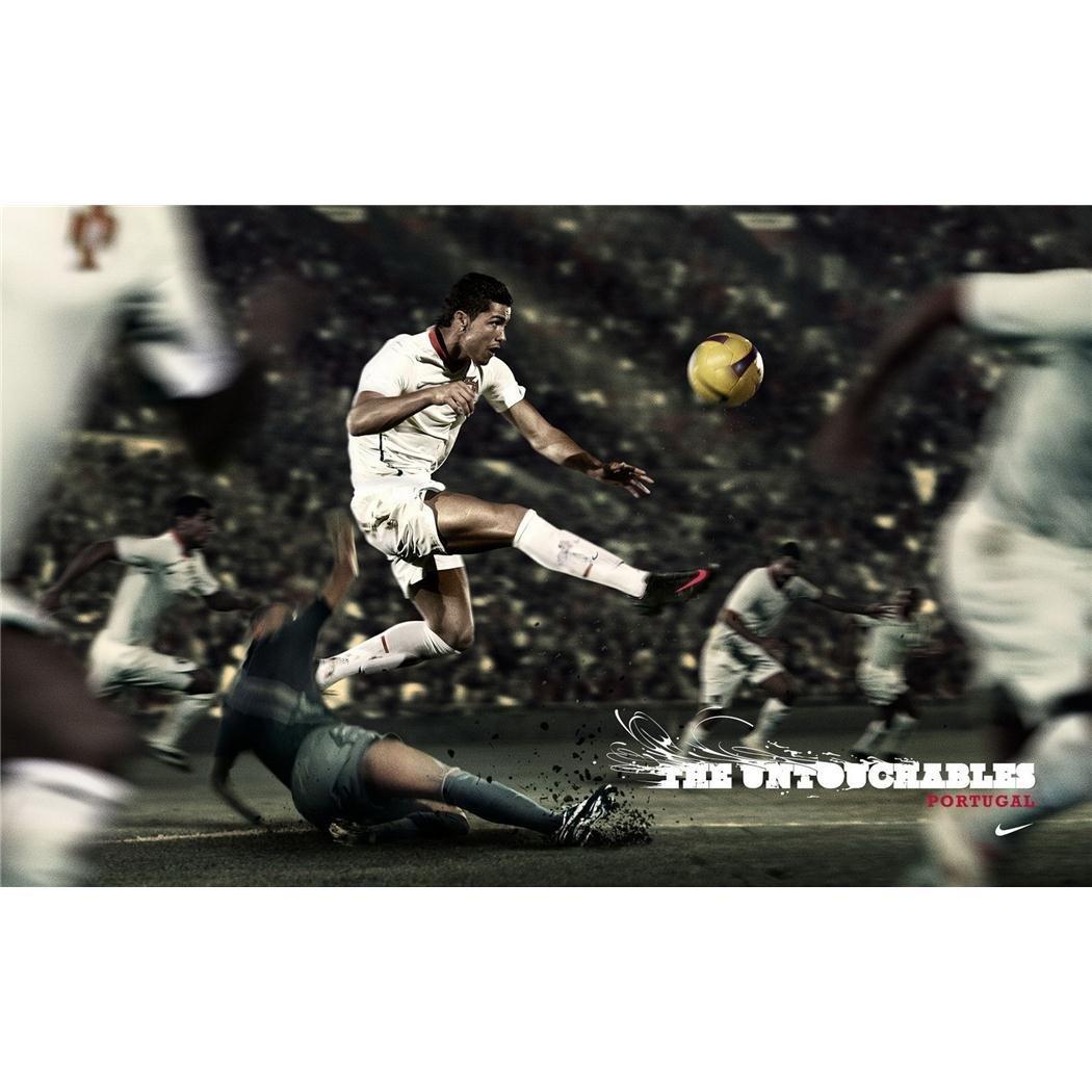 Cristiano Ronaldo 22 x 14 Artprintポスター105 C B00BQQBXQ2