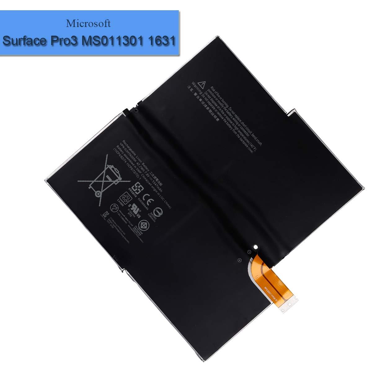 Bateria G3HTA005H Microsoft Surface Pro3 MS011301 1631 1ICP4
