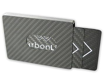 Carbon Visitenkartenetui Aluminium Business Card Case