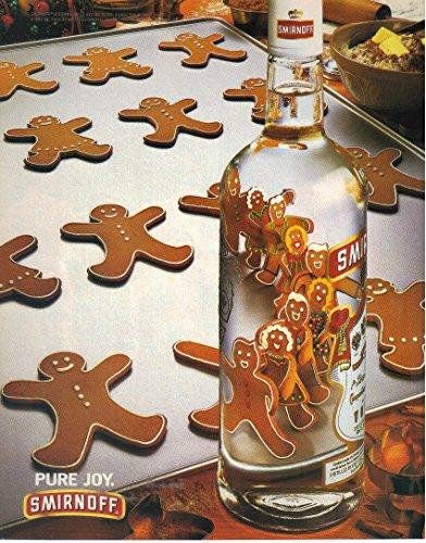 (Vintage Print Ad: 1994 Smirnoff Vodka,
