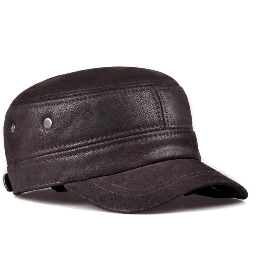 FERZA Home Hut-Außentürmütze für Männer im Frühling Frühling Frühling und Herbst, Cap-Cap-Cap, Cap-Cap-Helm. (Farbe   braun, Größe   22-23.2inch) B07MC31W3X Kopfbedeckungen Clever und praktisch 597185