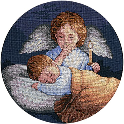 Dimensions Needlecrafts Counted Cross Stitch, Angelic Guardian