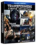 Cover Image for 'Transformers 5-Movie Collection [Blu-ray + Digital]'