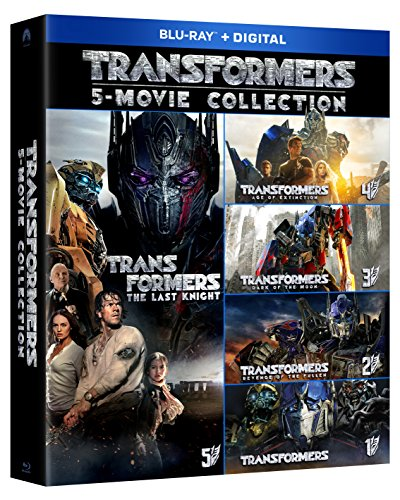 Transformers 5 Movie Collection [Blu-ray] ()