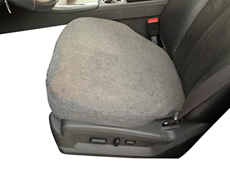 Magnificent Auto Console Covers Seat Cover Bottom Only 1 Cover Gray Fleece Universal Bucket Seat Protectors For Suvs Trucks Vans And Cars Machost Co Dining Chair Design Ideas Machostcouk