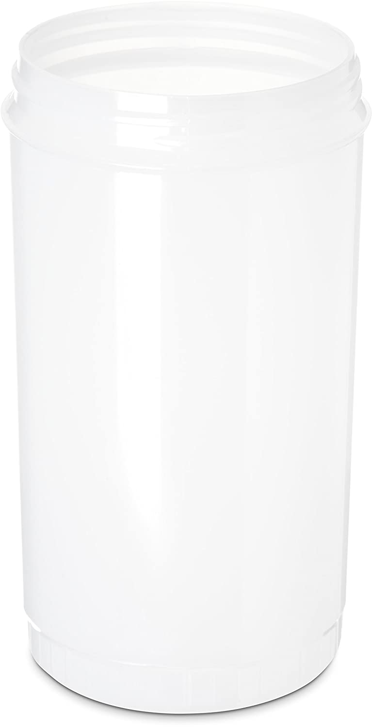 Carlisle PS603N02 Store N' Pour Quart Container, 1 Quart Capacity, White (Pack of 12)