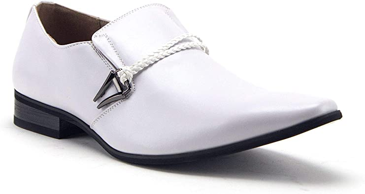 Belted Loafers Dress Shoes