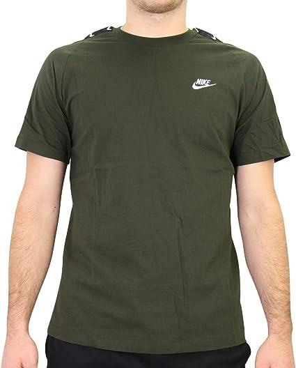 Nike Hbr Swoosh 2 T Shirt Homme: : Vêtements et