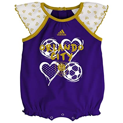 cf49d579455 Amazon.com   adidas Orlando City SC Infant Bodysuit Baby Snapsuit ...