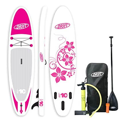 3ef8730b3f4d Amazon.com : Inflatable Stand Up Paddle Board 'Pink Flower' SUP ...
