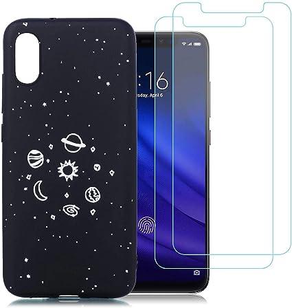 jrester Funda Xiaomi Mi 8 Pro,Universo Flexible Suave Silicona ...