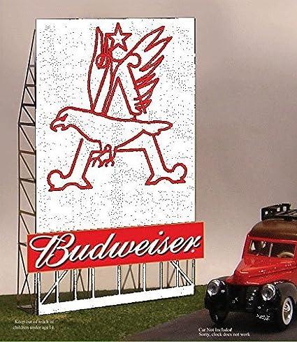 "Budweiser /""Eagle/"" Animated Billboard #33-9015 Z or N Scale Miller Engineering"
