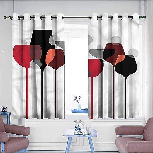 AndyTours - Cortinas para Puerta corredera, diseño Abstracto de ...
