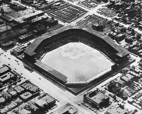 (Sportsmans Park 1934 St Louis Cardinals 8x10 Photo)
