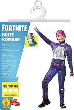 Fortnite - Disfraz Brite Bomber para niño, 152 cm (Rubies 300198 ...