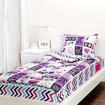Amazon Com Zipit Bedding Set Extreme Sports Twin Home