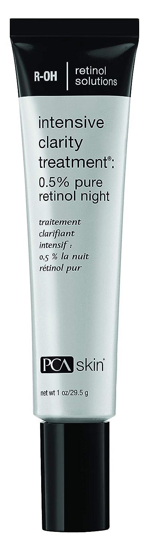 PCA SKIN Intensive Clarity Treatment: 0.5% pure retinol night, Nighttime Treatment for Aging & Acne Prone Skin, 1 Fl Oz