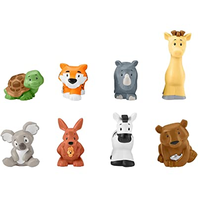 Fisher-Price Little People Safari Animal Friends: Toys & Games