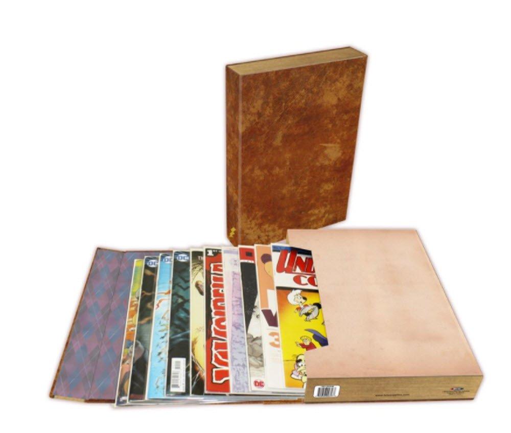 BCW Diversified BCDSFC15ARTLBK Comic Book Leather Stor-Folio