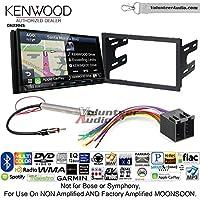 Volunteer Audio Kenwood Excelon DNX994S Double Din Radio Install Kit with GPS Navigation Apple CarPlay Android Auto Fits 1999-2001 Volkswagen Golf, 1999-2001 Jetta, 1998-2001 Passat
