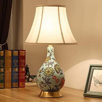Chambre Lampe De Ckh Nouveau Chevet Classique Européen Salon Chinois FJK1Tlc