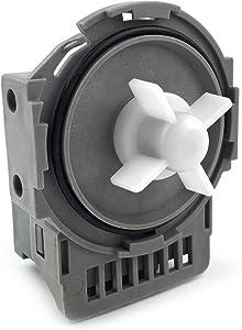 DW0005A Dishwasher Drain Pump for Samsung DD31-00005A,PS4222308/AP4342621/DMT800RHW/DMT400, DMT300/DMR78A/DMR77 and DMR57,120V