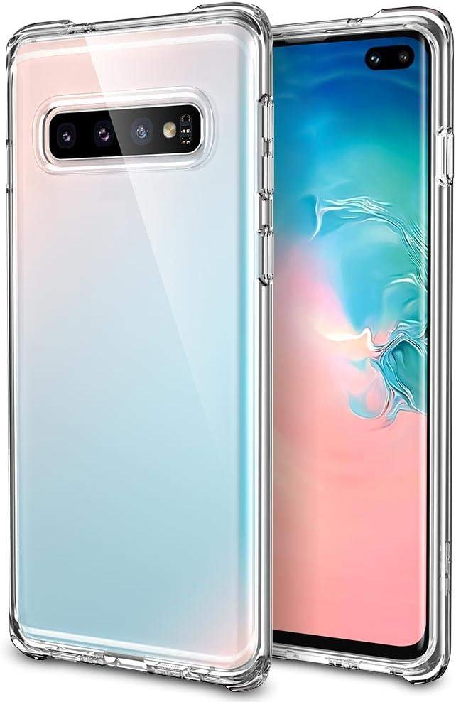 ESR Funda Essential Guard Clear Compatible con Samsung Galaxy S10 Plus, Funda de Silicona Suave con Parachoques Reforzado en Las Esquinas para Samsung S10 Plus - Transparente Jelly: Amazon.es: Electrónica