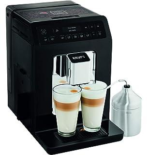 Krups Evidence Espresso EA891810 - Cafetera superautomática 15 bares, 15 preajustes, niveles de intensidad, molido grano, autolimpieza y descalcificación e ...