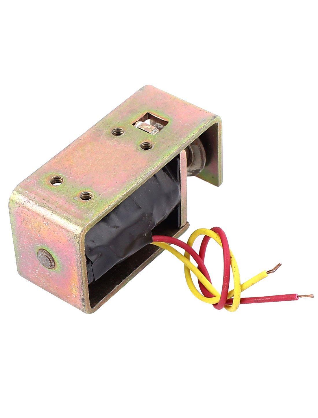 eDealMax DC 6V 8 mm 12g de bastidor abierto la cerradura de puerta eléctrica del electroimán del solenoide - - Amazon.com