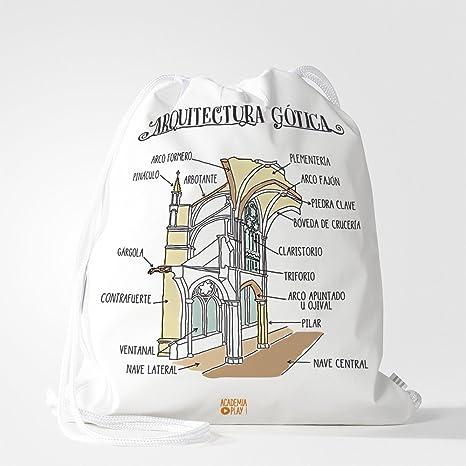 Mochila saco | Arquitectura Gótica