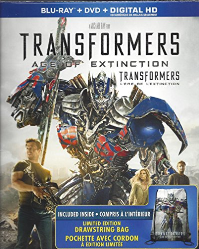 Transformers Age of Extinction Blu-ray Combo Limited Edtion