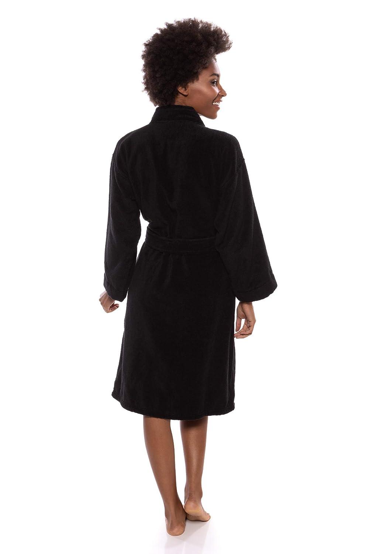 4c6adb2530 Texere Women s Organic Cotton Terry Robe - Slim Fit Bathrobe for Her (Megève)  at Amazon Women s Clothing store