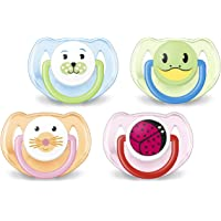 Philips Avent Orthodontic Pacifier, 6-18 Months, Animal Design SCF182/24 ( Colors and designs may vary), 2 count