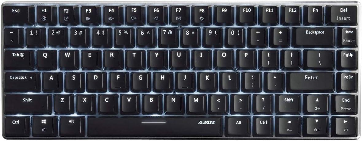 Ajazz AK33 Geek Black Mechanical Keyboard