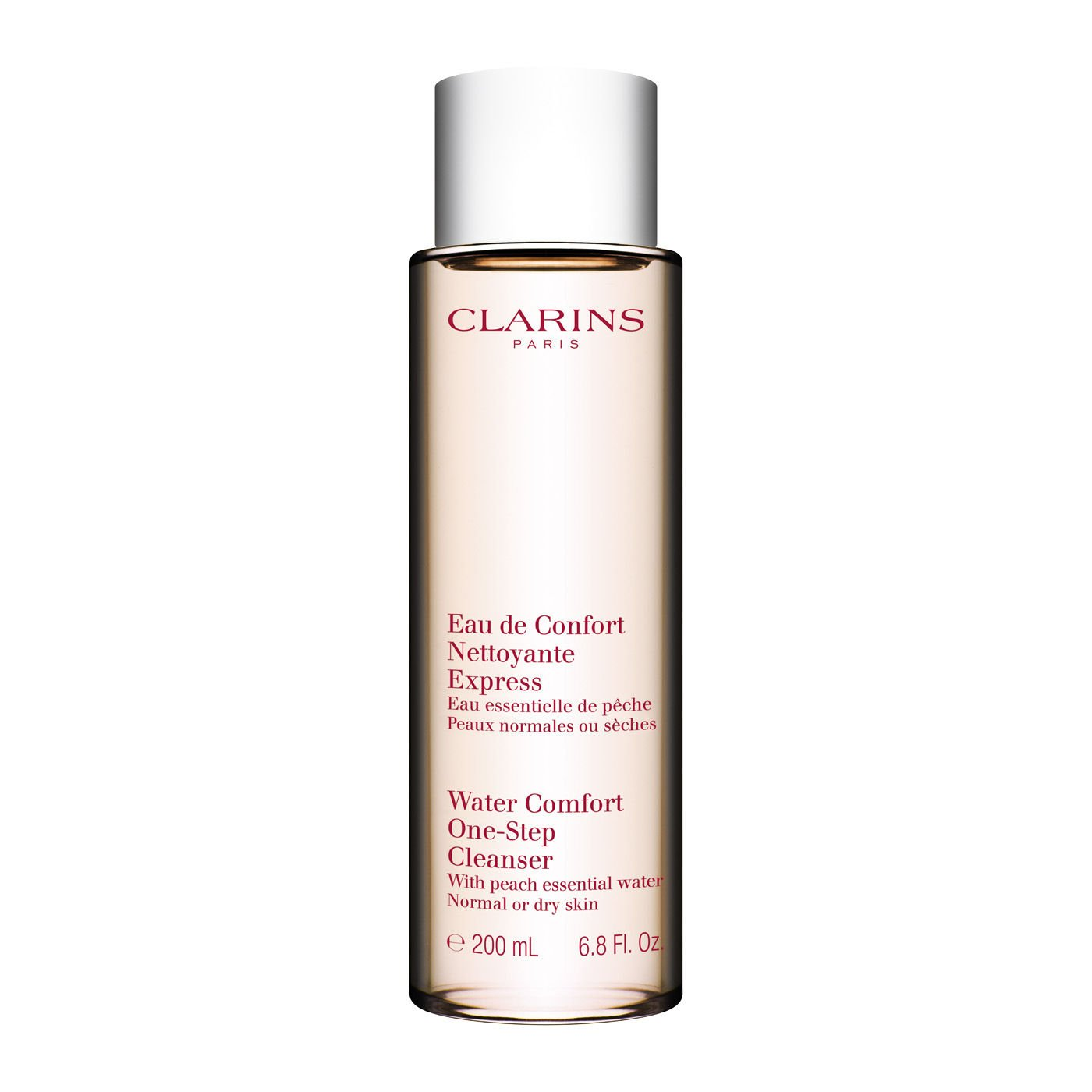 Clarins Water Comfort One-Step Cleanser with Peach Essential Water Water-Fresh Cleansing size: 6.7 fl oz,