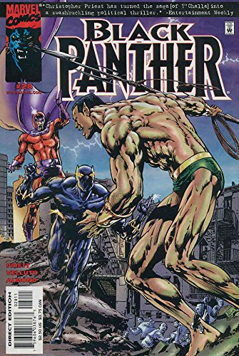 Black Panther (Vol. 2) #28 VF/NM ; Marvel comic book