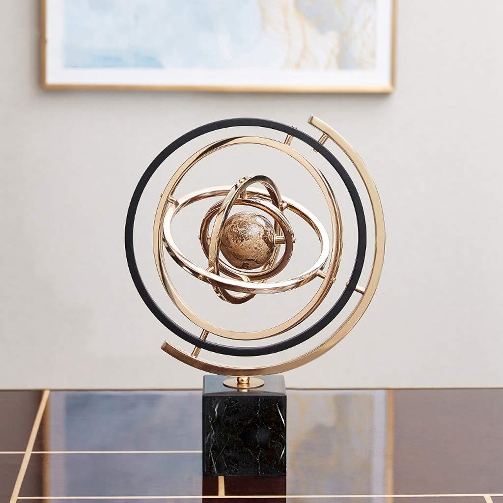 軽い贅沢な大理石の装飾的な金属の机の表面の研究の上限の家の装飾   B07SVJN7W2