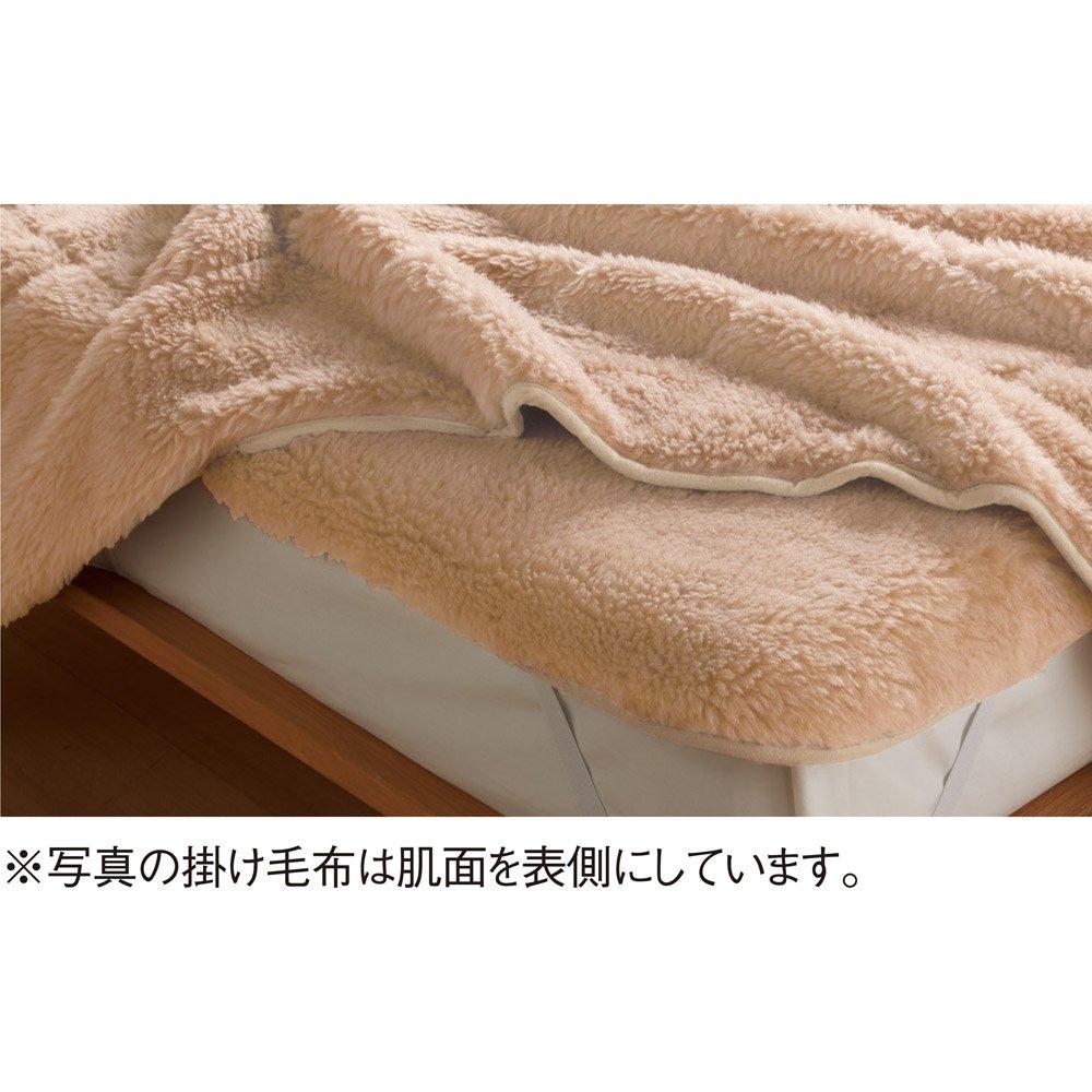 セミダブル 掛け毛布(メリノン ふかふか毛布シリーズ) 624102(サイズはありません イ:ベージュ(WEB)) B07HY4FJXG イ:ベージュ(WEB)