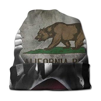 setyserytu Gorras/Sombrero de Punto, California Historic Bear Flag ...