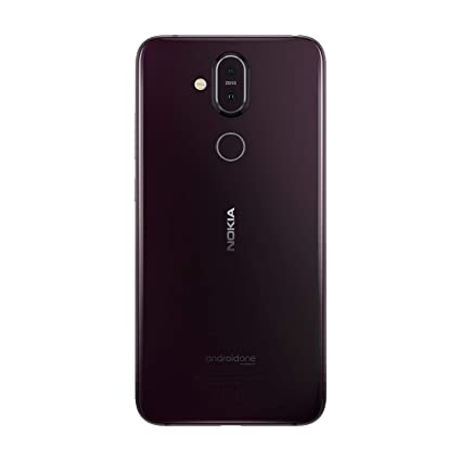 Nokia 8.1 Dual SIM 64GB 4GB RAM TA-1119 Iron Noir SIM Free: Amazon.fr: High-tech