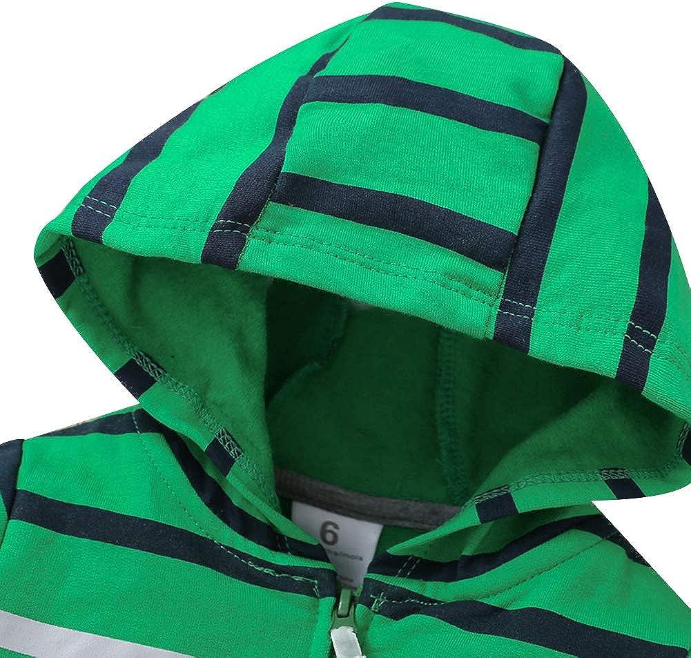 amropi Neonato Ragazze 3 Pezzi Completini Set Caldo Cappotti con Cappuccio e Pagliaccetti e Pantaloni per 3-24 Mesi