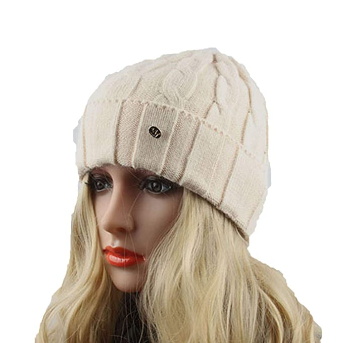 be97406d19b Chad Hope Ladies Winter Wool Hats for Women Knitted Beanies Warm Cap ...