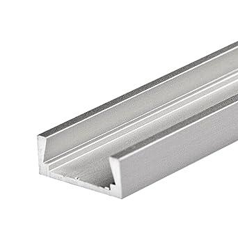 1 – 2 m aluminio perfil Micro (Mica) 1 – 2 metros – Tira