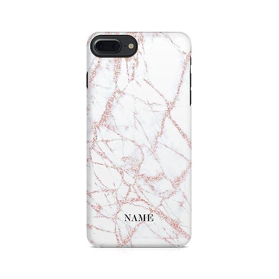 iphone 8 case initials rose gold