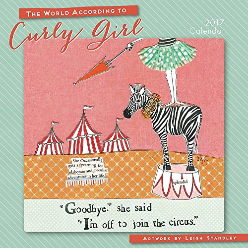 The World According to Curly Girl 2017 Mini/Small Wall Calendar
