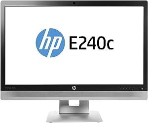 HP EliteDisplay 23.8-Inch Screen LED-Lit Monitor Black/Silver (M1P00AA#ABA)