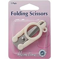 Hemline Hangsell 353.F Blister Carded Folding Scissors