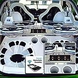 Lanzar Car Audio Crossover, 3 Way Active