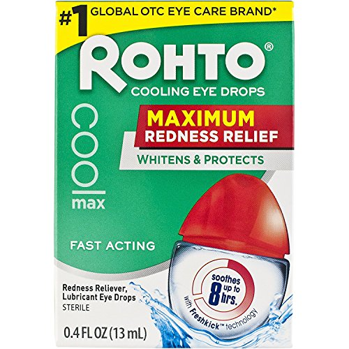 Rohto Cooling Eye Drops, .4 fl oz - 2pc