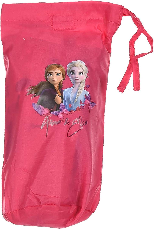 Veste imperm/éable avec Son /étui Enfant Fille La Reine des neiges Elsa Rose fonc/é 4 /à 8ans